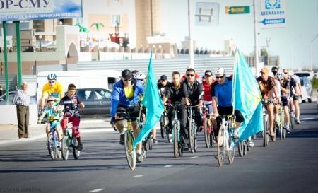 В Актау перенесена дата проведения велопробега, посвященного Дню победы