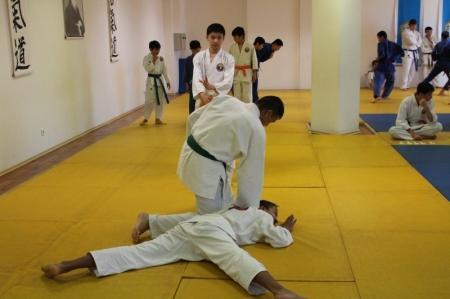 В Актау прошли городские соревнования по ката