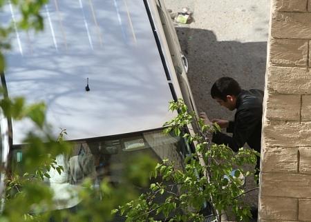 В 14 микрорайоне Актау пытались поджечь автомобиль