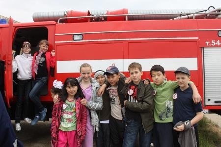 Родители воспитанников дружин юных пожарных считают, что в Актау необходимо построить тренировочную базу для детской секции