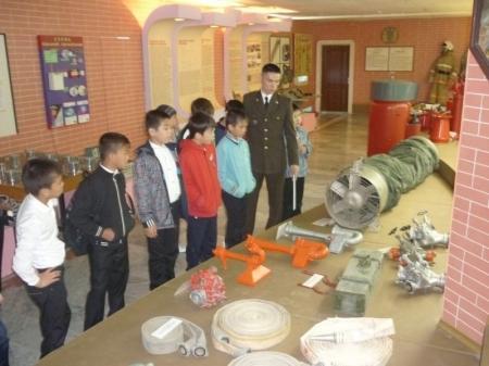 Актауские школьники посетили музей пожарной охраны