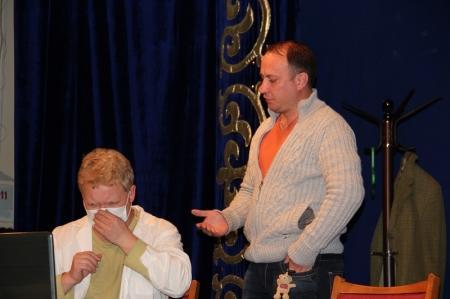 Актаусцев ждёт театр «САНТ» на премьеру сумасшедшей комедии-головоломки
