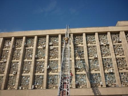 Пожарные Актау не дали выгореть кабинету пресс-службы горакимата