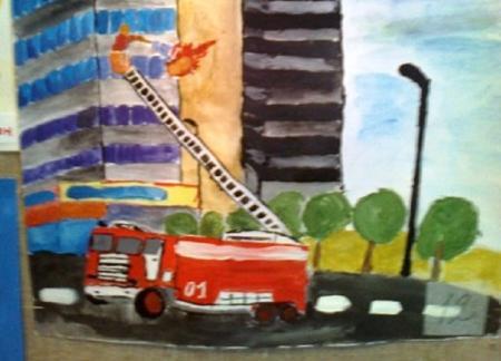 В Актау прошел конкурс рисунка «Безопасность детей на дороге и в быту»