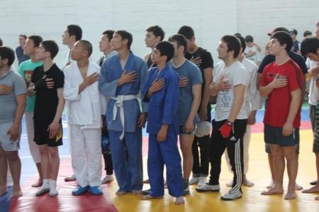 В Актау стартовал турнир по рукопашному бою, посвященный Дню защитника Отечества