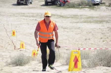 В Актау прошли соревнования по ралли-кроссу «Железный плацдарм 2013»