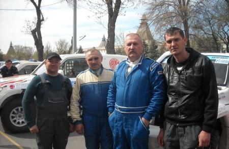 Мангистауская команда заняла 4 место в ралли-рейде «Золото Кагана-2013»