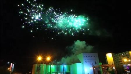 Празднование Дня Победы в Актау завершилось салютом