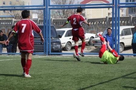 В Актау по итогам шести туров соревнований по мини-футболу забито более 230 голов