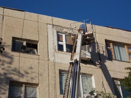 ЧП в 24 доме 6 микрорайона Актау частично ликвидировано сотрудниками АУЭС