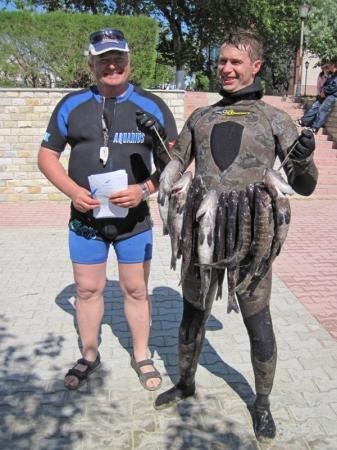 Актауские спортсмены заняли четвертое место в чемпионате Казахстана по подводной охоте