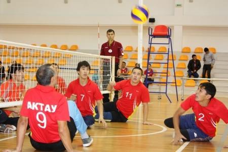 Актауские спортсмены-инвалиды отправляются на спартакиаду в Тараз