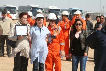 Работники компании «Маерск Ойл» отпраздновали Всемирный День безопасности