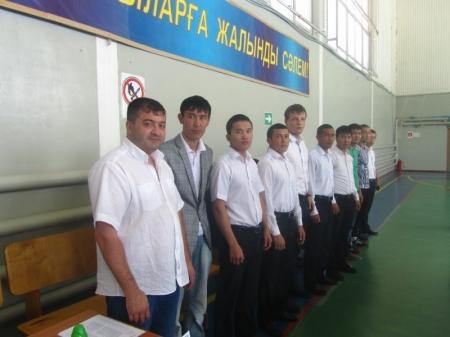 В посёлке Курык Мангистауской области прошел турнир по боксу