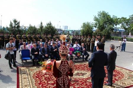 В Актау состоялось презентация открытия музея ДВД Мангистауской области