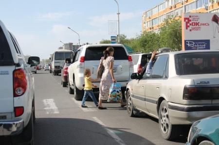 В Актау пешеходы выплачивают штрафы за нарушения ПДД оперативнее, чем водители