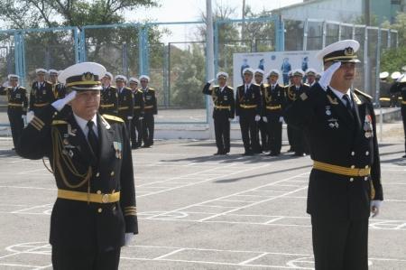 Матросы воинской части 29011 ВМС Актауского гарнизона присягнули на верность Родине