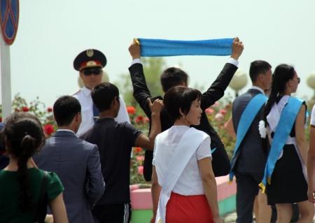 ДВД Мангистауской области: «Последний звонок» в Актау прошел спокойно