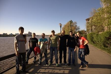 Автомобилисты Актау съездили на любительские соревнования по картингу в Атырау