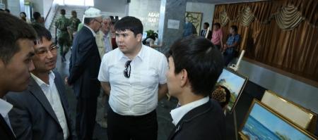 Консул Азербайджана принял участие в праздновании Дней Жанаозена в Актау