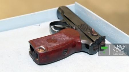 Изъятое в ходе массовых беспорядков в Жанаозене оружие не было зарегистрировано в гильзотеке МВД