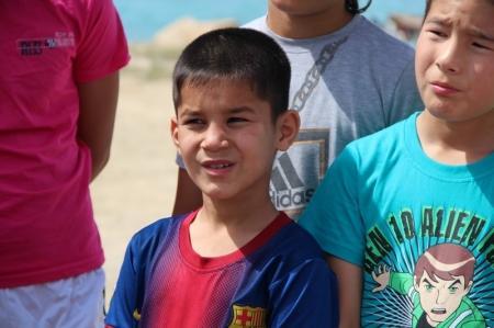 Воспитанники детской деревни Актау посетили станцию водно-спасательной службы