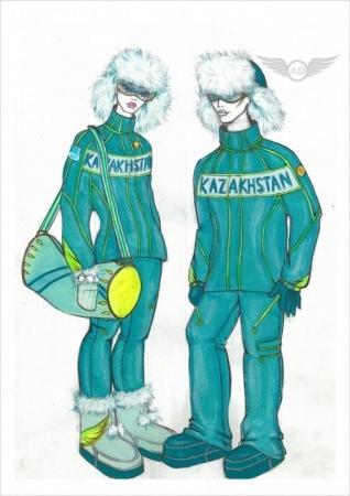 Казахстанские олимпийцы на олимпиаду в Сочи оденутся в костюмы из Атырау