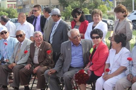 В Актау прошел митинг, посвященный памяти жертв политических репрессий