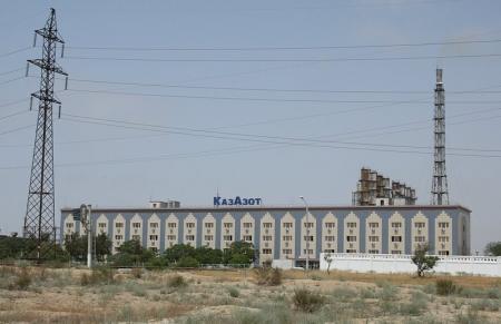 """В результате перепада напряжения на заводе """"КазАзот"""" временно было приостановлено производство"""