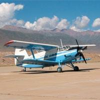 В Кызылординской области разбился АН-2, один человек погиб