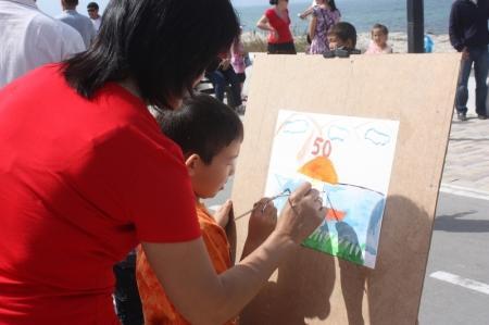 В Актау прошел концерт, посвященный Дню защиты детей