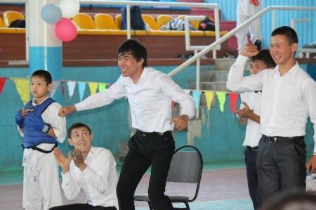 В Актау прошло открытое первенство по киокушинкай каратэ-до, посвященное Дню защиты детей