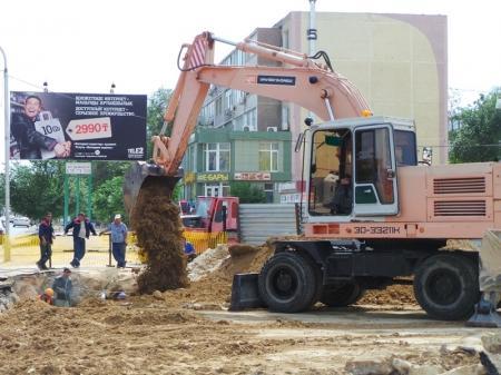ГКП «Каспий жылу, су арнасы» завершает ремонт трубы на центральной автодороге Актау