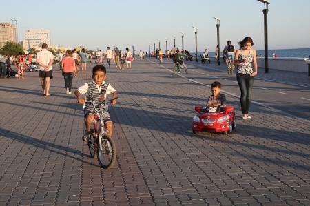 О велосипедистах на набережной Актау. Мнение жителей