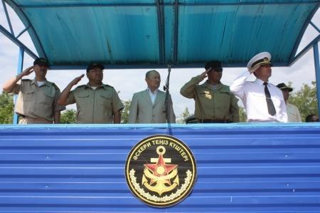 В Актау прошли военные сборы