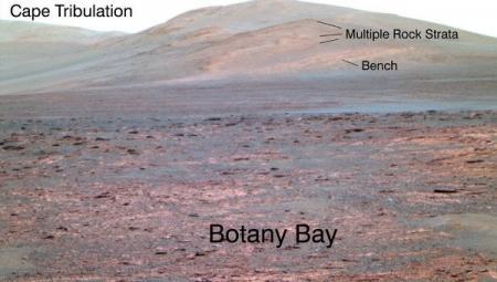 Марсоход Opportunity нашел следы пресной воды на Марсе