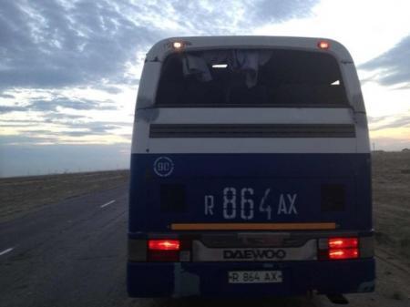 В Мангистау оштрафован водитель, управлявший пассажирским автобусом в неисправном состоянии