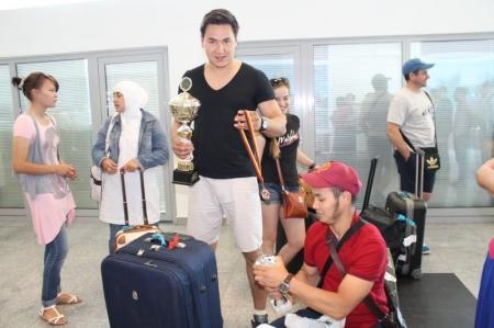 Мангистаусцы в составе сборной РК заняли второе общекомандное место на чемпионате Европы по кекушинкай каратэ