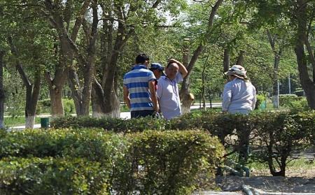"""Акция """"Мы за зеленый город"""" организованная через соцсети, успеха у жителей Актау не имела"""