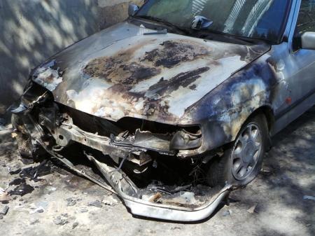 В 22 микрорайоне Актау произошло возгорание автомашины