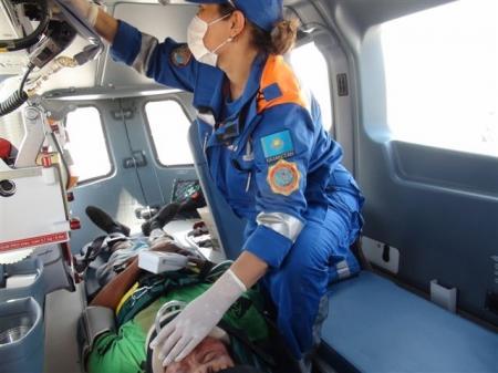 В Мангистау на аварийно-опасных участках дорог планируют открыть трассовые медико-спасательные пункты