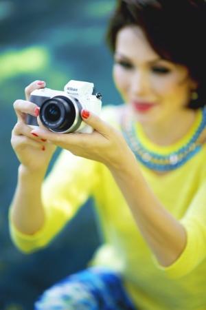 Казахстанская певица стала официальным лицом Nikon