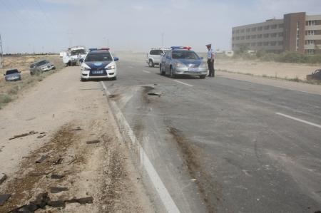 В автомобильной аварии на автотрассе Актау - станция Мангистау погиб человек (ДОПОЛНЕНО)