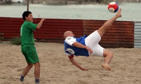 В Актау стартует чемпионат области по пляжному футболу