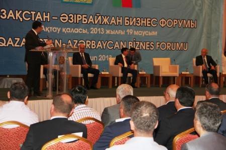 В Актау проходит Казахстанско-Азербайджанский бизнес-форум