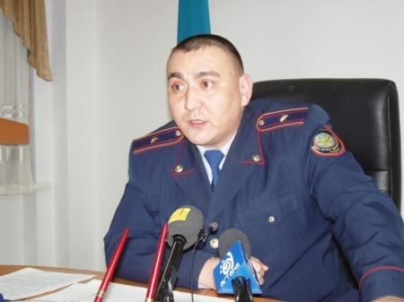 Начальник криминальной полиции: Житель Актау стрелял в военного из-за неприязненных отношений