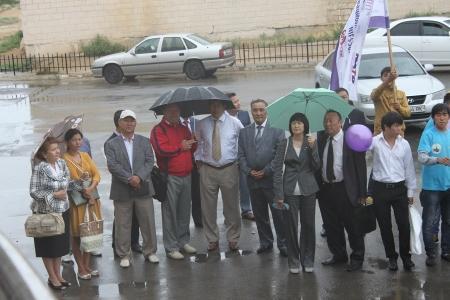 В Актау прибыл автобус поддержки новых инициатив «Инновационный форсаж»