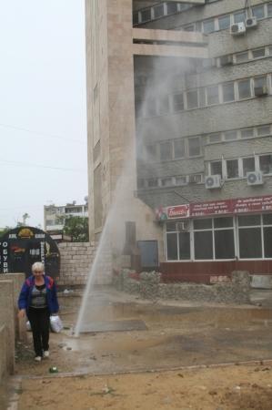 В Актау появился еще один фонтан