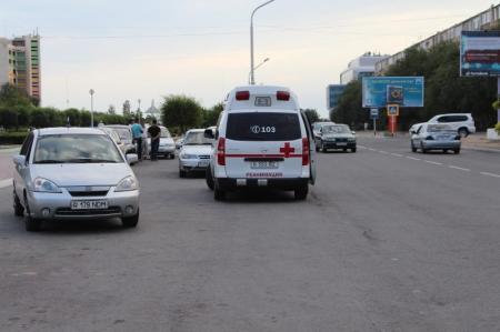 Пострадавшая в ДТП на перекрестке Актау девочка, находится в коме