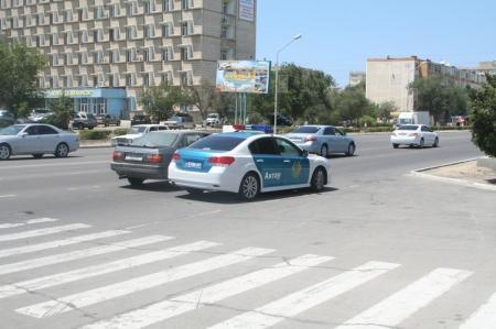 В Актау у поликлинники седьмого микрорайона сбили пешехода